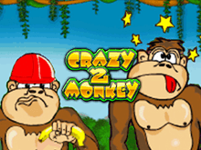 Игровой автомат Crazy Monkey 2 онлайн в клубе Вулкан