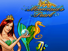 Автомат Mermaid's Pearl в казино Вулкан на деньги