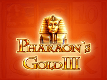 Игровой аппарат Вулкан Pharaohs Gold III онлайн