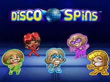 Disco Spins в клубе Вулкан