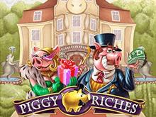 Piggy Riches в казино Вулкан на деньги