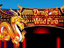Играть на деньги в аппарат Dragon's Wild Fire